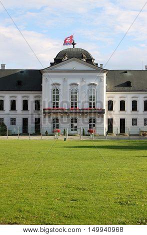 Courtyard of Presidential Palace of Slovakia, Bratislava
