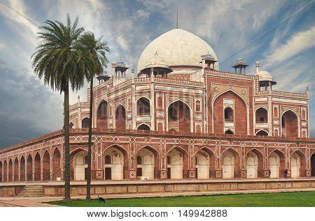 Humayun Tomb New Delhi, India.
