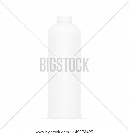 White Medical Plastic Bottle