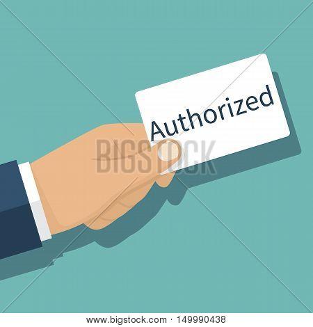 Authorized Concept, Vector
