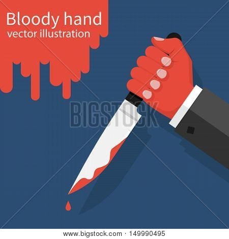 Knife With Dripping Blood