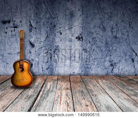 Guitar In The Interior