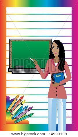 Teacher Business Card 1