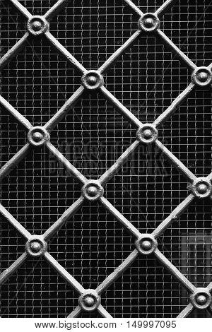 Decorative Metal Gate Texture