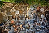 stock photo of giannena  - The antiqe market in ioannina Greece - JPG