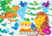 Cheerful Animals 19 poster