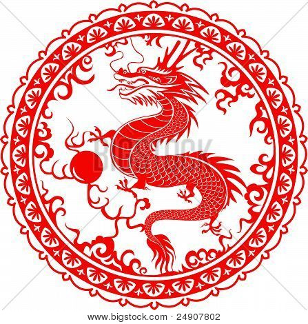 Dragon. Symbol of the 2012