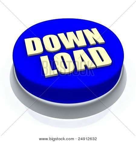 Download round button 3d