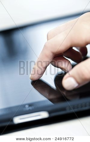 Tablet Computer With Hand