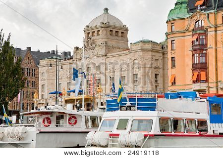 View On Royal Dramatic Theater, Stockholm