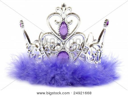Purple princess crown