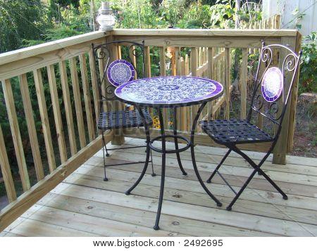 Bistro Table Set.