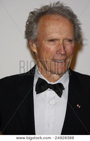 LOS ANGELES - NOV 5: Clint Eastwood at the LACMA Art + Film Gala on November 5, 2011 in Los Angeles, California