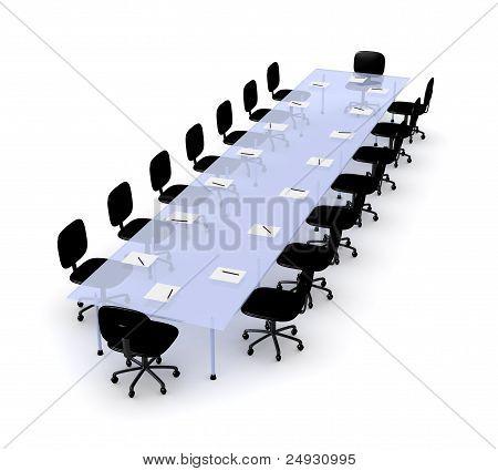 Mesa de conferencia