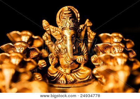 Ganesha Amongst Ganesha's Close Up