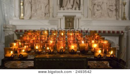 Candles At St Patrick'S Cathedral