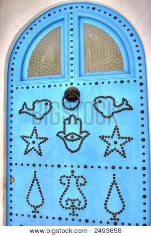 Typical Tunisian Door
