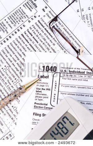 Irs 1040 Forms