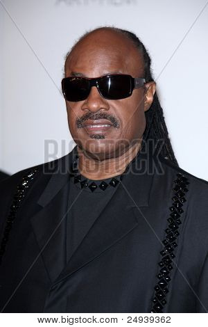 LOS ANGELES - NOV 5:  Stevie Wonder arrives at the LACMA Art + Film Gala at LA County Museum of Art on November 5, 2011 in Los Angeles, CA