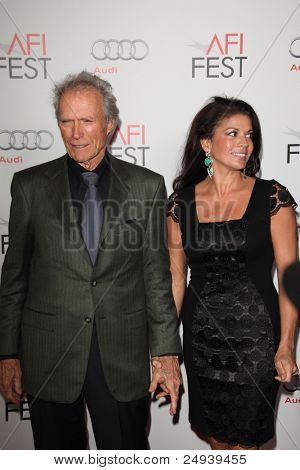 "LOS ANGELES - NOV 3:  Clint Eastwood arrives at the AFI FEST 2011 Presented By Audi - ""J. Edgar"" Opening Night Gala at Grauman's Chinese Theater on November 3, 2011 in Los Angeles, CA"