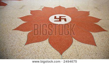 Floor Of Indian Temple