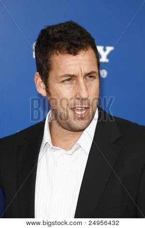 LOS ANGELES - NOV 6: Adam Sandler at the 'Jack And Jill' World  Premiere at Regency Village Theater on November 6, 2011 in Los Angeles, CA