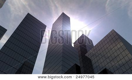 daylight in the city 1