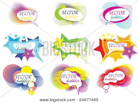 bubbles for speech eps10