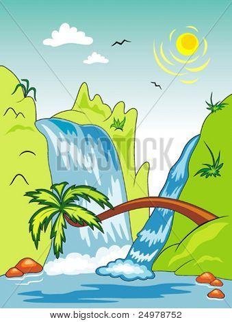 Beautiful Waterfall 2.
