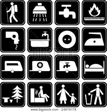 Conjunto de iconos.