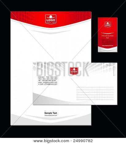 Corporate Identity Template Vector 4