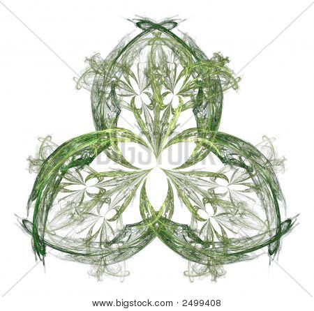 Irish Shamrock Motif