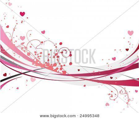 Romantic pink design