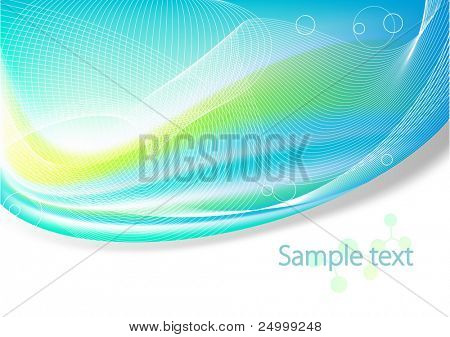 Motion Abstract Background with free space for your text. Vector Image.