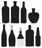 pic of boose  - Bottles for bottling of alcoholic beverages - JPG