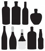 pic of boose  - Bottles for bottling of alcoholic beverages - JPG
