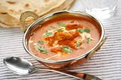 pic of kadai  - butter chicken curry in kadai - JPG