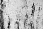 Black And White Dust And Scratched Textured Backgrounds With Space. poster