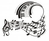 picture of musical note  - Music Note - JPG