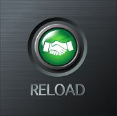 Vector button to reload the relationship
