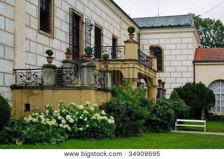 Chateaux garden