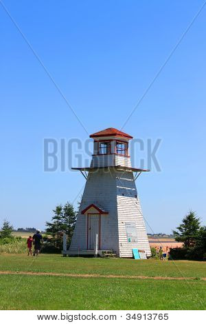 Cabot Beach Lighthouse