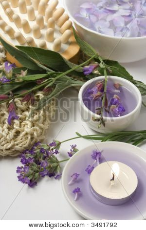 Juego de masaje y aromaterapia