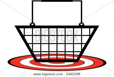 Shopping Basket On Target.