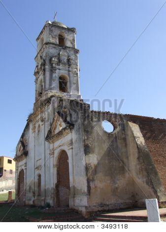 Vintage Ancient Church In Trinidad