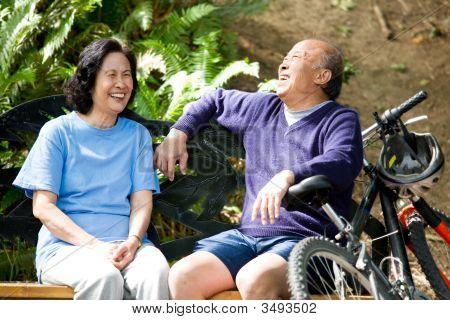 Senior Asian Couple