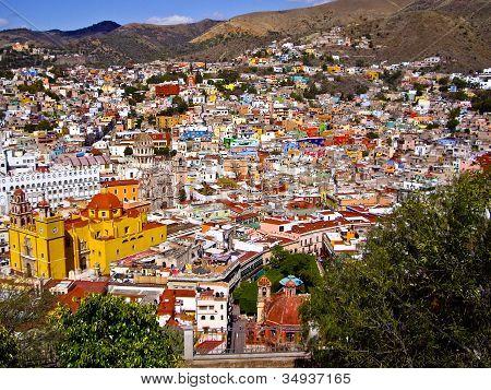 Hills Of Guanajuato Mexico
