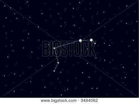 "Vector Illustration Of Constellation ""Aries"""