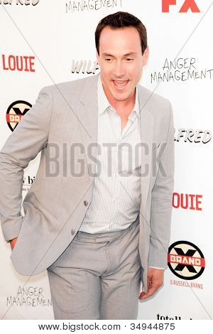 HOLLYWOOD, CA - JUNE 26: Chris Klein arrives at FX Summer Comedies party at Lure on June 26, 2012 in Hollywood, California.