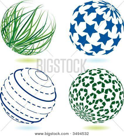 Four Round Logos
